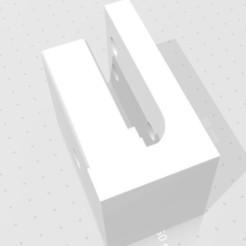 Floating M4 Wall Mount2.jpg Télécharger fichier STL gratuit Support mural flottant M4 - Baril à droite • Objet pour impression 3D, PJGJ210