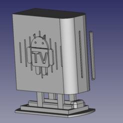 large_display_box_assembly.png Télécharger fichier STL Boîte TV androïde PI4 à la framboise • Plan pour imprimante 3D, domenicospina
