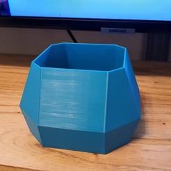 20200806_213321.jpg Descargar archivo STL Florero Recipiente Geometrico • Objeto para imprimir en 3D, sebamazza