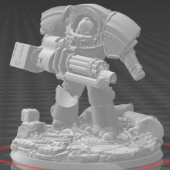 Terminator_pose_1_with_base.png Download free STL file Primary Termination Unit 1 • 3D printable model, HereticSlayer009