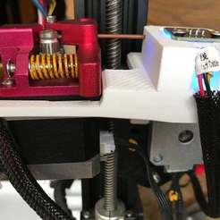 Runout_w-DualGear_03.jpg Download free STL file UFS-022 Creality Filament Runout Sensor CR-10S & Dual Gear • Model to 3D print, jouletime