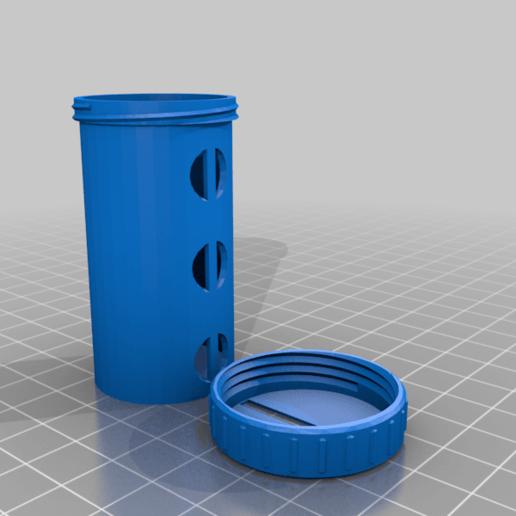 UFS-044_Euro-Coin_Tube.png Télécharger fichier STL gratuit UFS-044 Détenteur de pièces de deux euros • Objet à imprimer en 3D, jouletime