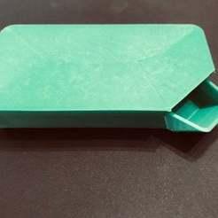 IMG_3379.jpg Télécharger fichier STL gratuit UFS-068 Plateau de pièces détachées avec entonnoir et couvercle • Objet pour imprimante 3D, jouletime