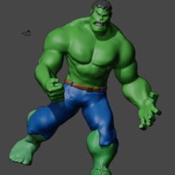 hulkmejor.png Download OBJ file Hulk Cartoon mobile. • 3D printing template, jorgeps4