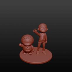 doraemon23.png Download OBJ file Nobita and Doraemon • 3D printing object, jorgeps4