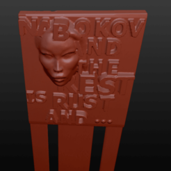 lolita3 (2).png Download OBJ file Lolita bookmark • Object to 3D print, jorgeps4