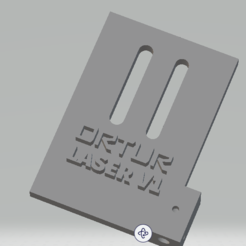 Download 3D print files ortur laser bracket with air assist, DirtyGh0st