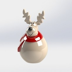 GAVAZN.JPG Download free GCODE file deer • 3D printer object, engaminirani