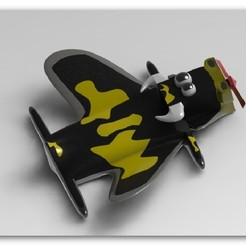 cow6.jpg Download STL file Cowplane • 3D print design, engaminirani