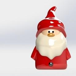baba.JPG Download STL file Santa clause • 3D printing template, engaminirani