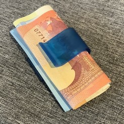 11CA8483-3E9F-4C47-B05B-B3B8631FAE0C_1_201_a.jpeg Télécharger fichier STL gratuit Pince à billets Money Clip Symbole Euro • Design à imprimer en 3D, Shadow75