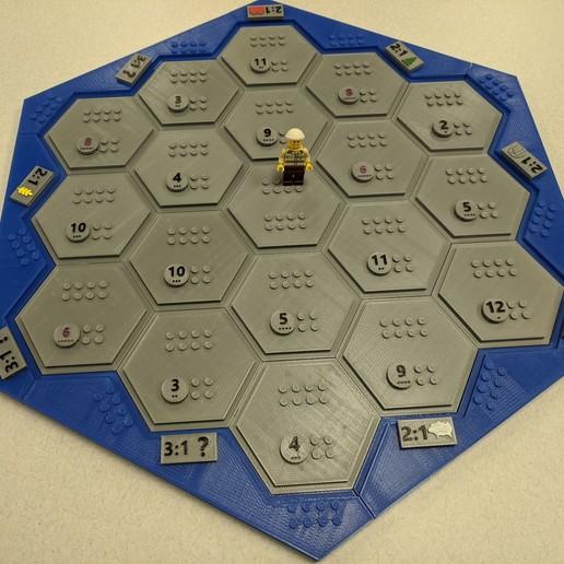 IMG_20200330_095102.jpg Télécharger fichier 3MF gratuit Les colons de Catane en style Lego • Modèle imprimable en 3D, jcoehoorn