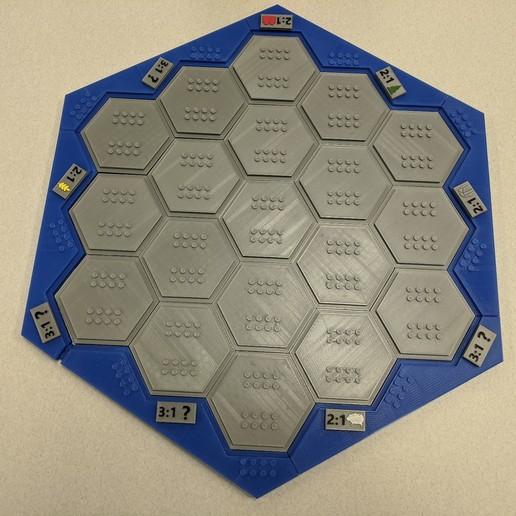 IMG_20200330_094617.jpg Télécharger fichier 3MF gratuit Les colons de Catane en style Lego • Modèle imprimable en 3D, jcoehoorn