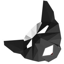 Télécharger plan imprimante 3D éclairage abstrait de la face du chat, saeedyouhannae