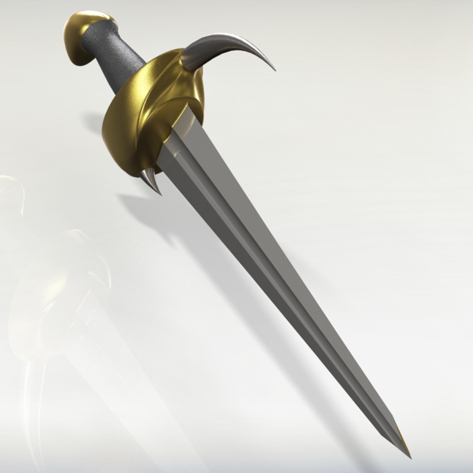 1.jpg Télécharger fichier 3DS gratuit épée à cornes • Plan imprimable en 3D, saeedyouhannae