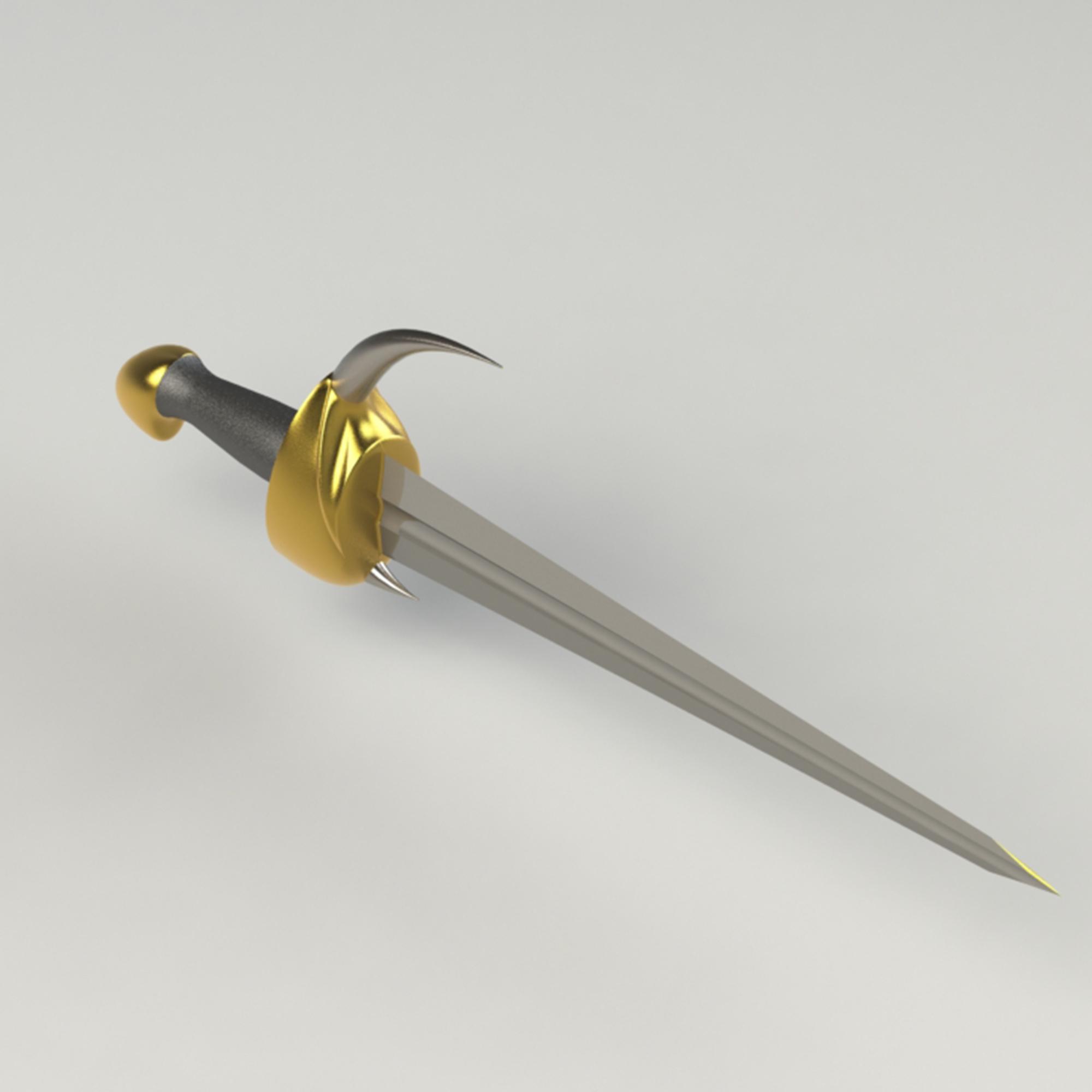2.jpg Télécharger fichier 3DS gratuit épée à cornes • Plan imprimable en 3D, saeedyouhannae