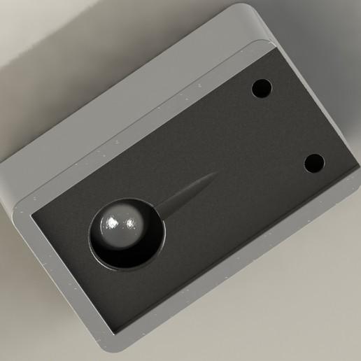 Untitled-3.jpg Download free STL file abstract face- ashtray- saving bank • 3D printable template, saeedyouhannae