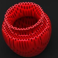 Télécharger fichier imprimante 3D gratuit vase à miel, saeedyouhannae