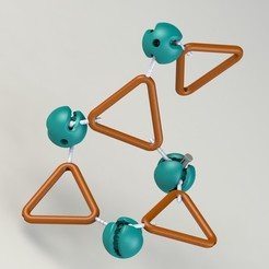 Descargar modelo 3D estructura del triángulo - super ajuste dinámico, saeedyouhannae