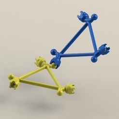 Télécharger STL gratuit structure modulaire dynamique - type lego, saeedyouhannae