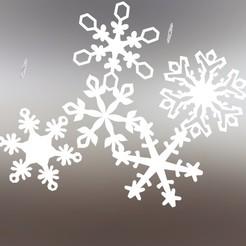 Untitled-1.jpg Télécharger fichier OBJ gratuit flocon de neige • Modèle imprimable en 3D, saeedyouhannae