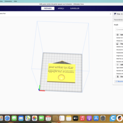 """Capture d'écran 2020-12-22 à 07.54.47.png Download free STL file panel: """"to stop grumbling press the button! """" • 3D print design, ludivinel5962"""