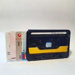 IMG_20201106_111551_239.jpg Download STL file Cassettes Wallet • 3D printing template, An3a_Design