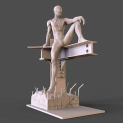 Download 3D printer designs spider man Miles, 275728854