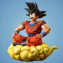 Télécharger fichier STL gratuit Dragon Ball Goku • Objet pour impression 3D, 275728854
