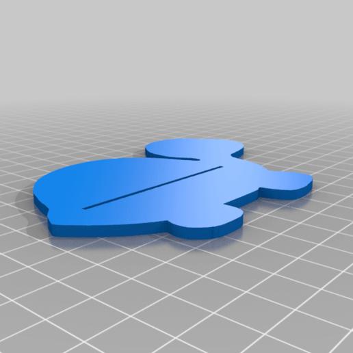 Download free STL file Toothpaste Pusher Turtle • 3D printing model, PaloPil