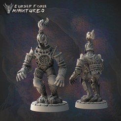 animated_armor_1350X1350.jpg Download STL file Pre-supported animated armor • 3D printing model, cursedforgeminiatures