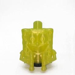 IMG_20200813_162609.jpg Download STL file SpongeBob Mouthpiece • 3D print template, JLab