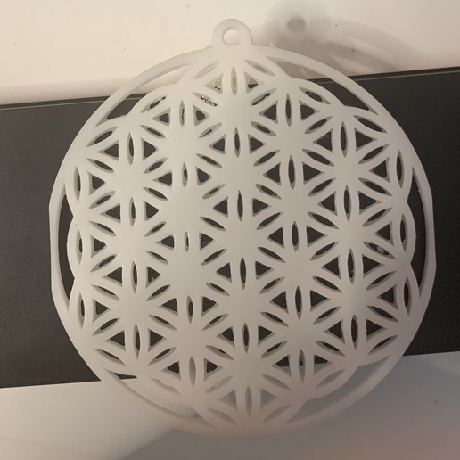 "Download 3D printer templates Jewel ""Flower of Life"", Engrieks"