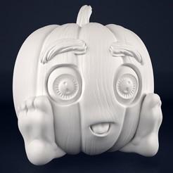 Download 3D printer designs Pumpkin small, Dreameks