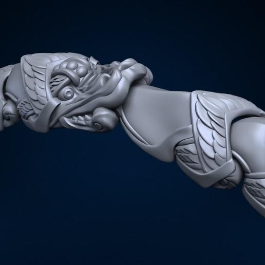 Download STL files Dragon bracelet , Dreameks