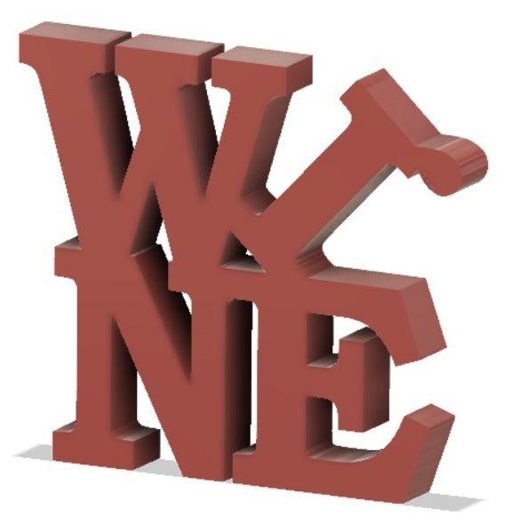 wine.png Télécharger fichier STL gratuit Vin • Objet pour imprimante 3D, henriquetinoxxx