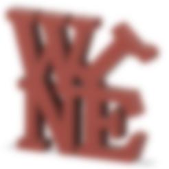 wine.stl Télécharger fichier STL gratuit Vin • Objet pour imprimante 3D, henriquetinoxxx