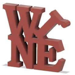 Download free 3D printer templates Wine, henriquetinoxxx