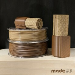 M_und_S.jpg Download STL file COOKIE BOX // CHOCO-WAFFLE-ROLL // SIZE M • 3D printer template, made3d
