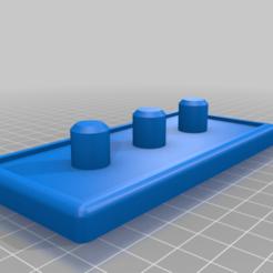Bodenplatte_Zahnrad_Streuer.png Download free STL file Mechanical Salt & Pepper Stand (3 shaker version) • 3D printable template, eberproducts