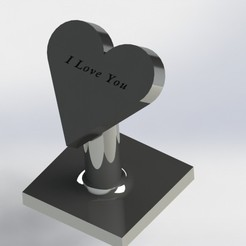 Download STL file Heart Gift • 3D printer design, SebasG11