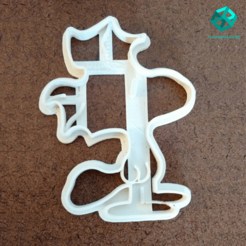 Download 3D printer files WOODSTOCK COOKIE CUTTER SNOOPY , ThingsMary3D