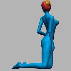 2020-09-20 180225.jpg Download free STL file Kneeling sex lady  • 3D printer template, wjk19951114