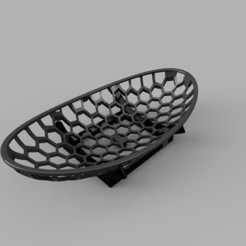 Frutero.jpg Download STL file Hexagonal Fruit Basket • 3D printing design, arquishock