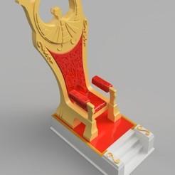 Descargar archivos 3D Saint Seiya Myth Cloth Athena's Throne, arquishock
