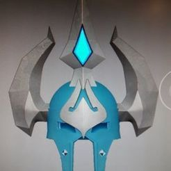 117036275_1253021758368253_2243692297428404547_n.jpg Download STL file Death Knight T10 World of Warcraft Helmet • 3D printable object, Nacholosardo