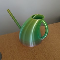 DSC_0353 1a.jpg Download free STL file Curvy Indoor Watering Can • Object to 3D print, TimA