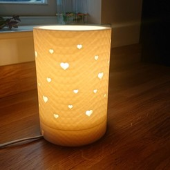 DSC_0377 1a.jpg Download free STL file Heart lamp • 3D printable object, TimA