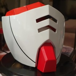 Download free 3D printing models COVID-19 Mask Cap, Gundam RX-78 Edition, Elcheapo