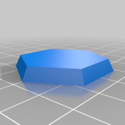 Download free 3D printing designs 6mm Bevelled Hex base, Lu22X